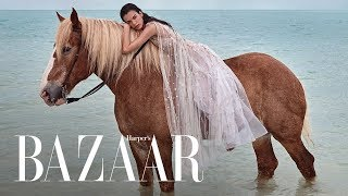 Chic Unconventional Beach Wedding Dresses | Harpers BAZAAR