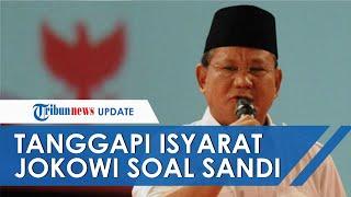 Reaksi Prabowo Subianto saat Jokowi Sebut Sandiaga Uno Bakal Jadi Presiden 2024