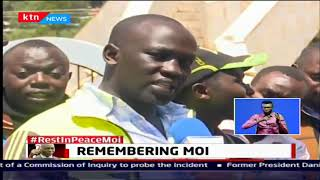 How fiends remembered Former President Daniel Moi