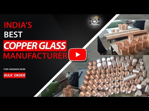 Pure Copper Tumbler