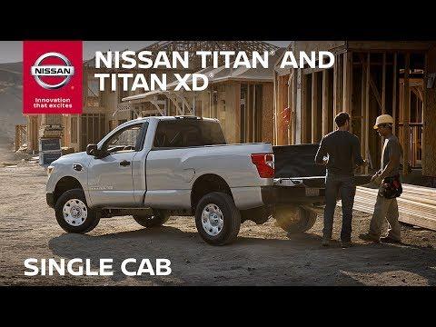 2018 Nissan TITAN Single Cab Walkaround & Review