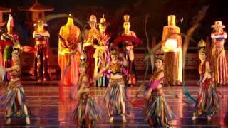 201106陜西西安 大唐芙蓉園 夢回大唐5 盛唐歌舞文化 詩樂歌舞劇 鳳鳴九天劇場