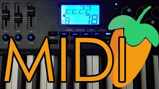 How To Link Faders And Knobs To Your Midi Keyboard In FL Studio 12