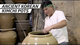 How a Master Potter Makes Giant Kimchi Pots Using the Traditional Method — Handmade thumbnail