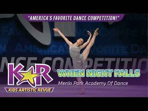 """When Night Falls"" from Menlo Park Academy of Dance"