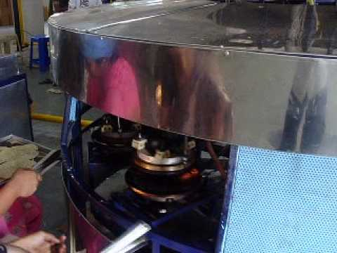 KHR-3P Pedal Type Khakhra Roasting Machine