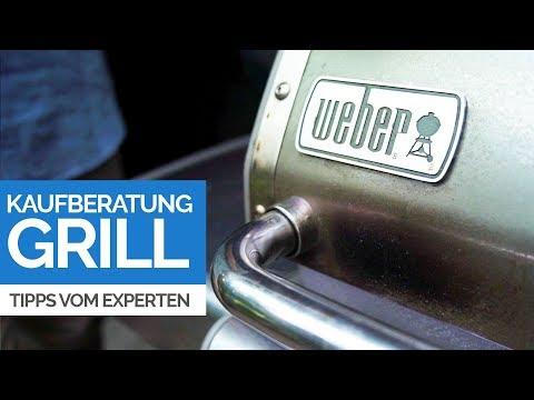GRILL KAUFBERATUNG - Gasgrill, Kohlegrill oder Elektrogrill? Der Grillexperte gibt Tipps zum Kauf