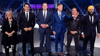 Federal leaders' debate highlights