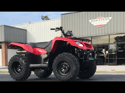 2021 Suzuki KingQuad 400FSi in Greenville, North Carolina - Video 1