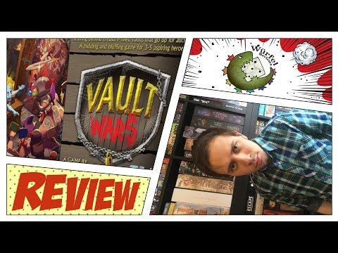 Vault Wars Review - Würfel Reviews