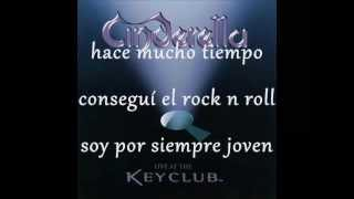 Cinderella - One For Rock & Roll (Subtitulado)