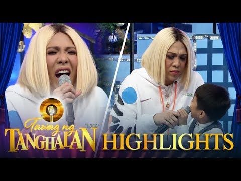 Tawag Ng Tanghalan: Carlo defends Vice from Vhong and Jhong