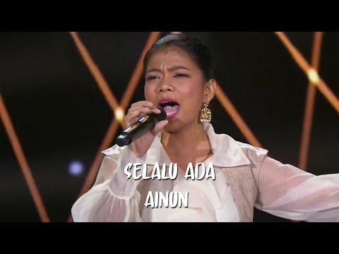 AINUN INSANI – SELALU ADA LIRIK (Reza Artamevia) - FINAL SHOWCASE - Indonesian Idol 2020 HD