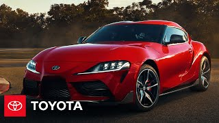 YouTube Video Qm1VmgvLSpk for Product Toyota GR Supra Sports Car (5th gen J29/DB) by Company Toyota Motor in Industry Cars