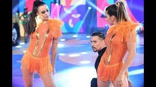 Cintia Fernandez y Nai Awada junto a Jorge Moliniers bailaron la salsa de a tres