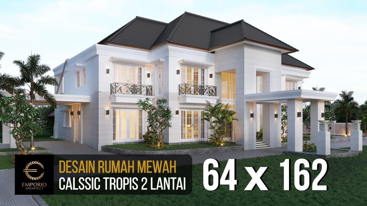 Video 3D Mrs. A Classic House 2 Floors Project 849 Design - Banjarmasin, Kalimantan Selatan