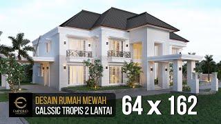 Video Desain Rumah Classic 2 Lantai Project 849 Mrs. A di  Banjarmasin, Kalimantan Selatan