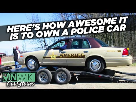 Man buys a sheriff car on ebay and has some great stories to share.