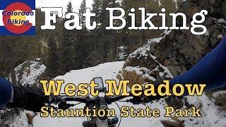 Fat biking West Meadow Trail clockwise