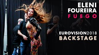 Eleni Foureira - Fuego - Eurovision 2018 (Backstage video)