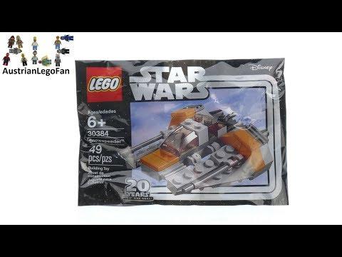 Vidéo LEGO Star Wars 30384 : Snowspeeder (Polybag)
