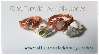 Wire Wrap Ring Tutorial.