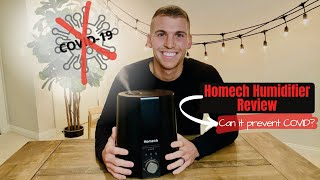 Humidifier by HOMECH Review (Can it prevent COVID-19?)