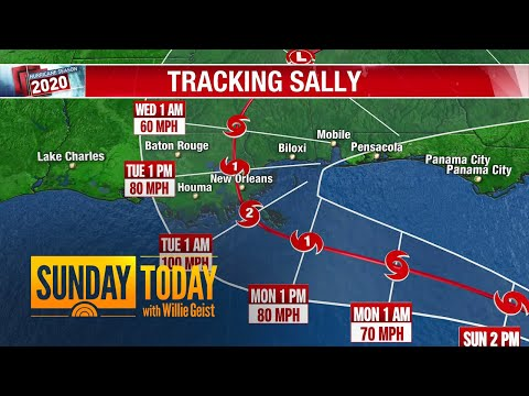 Tropical Storm Sally Targets Louisiana, Expected To Make Landfall As Category 2 Hurricane | TODAY