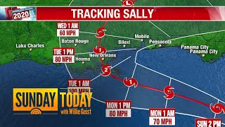 Tropical Storm Sally Targets Louisiana, Expected To Make Landfall As Category 2 Hurricane   TODAY