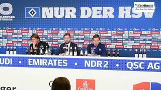 PK nach dem Sieg gegen HSV
