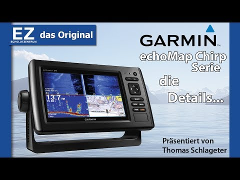 Garmin  echomap CHIRP 72SV / 92SV Echolot mit GPS Plotter / Details & Lieferumfang