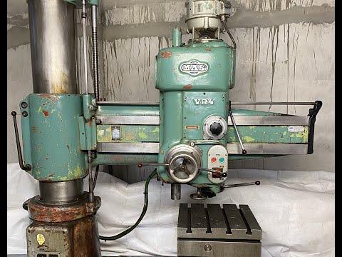 MAS VR4 50 mm Radial Drilling Machine