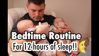 Twin Baby Bedtime Routine For Easy Sleep Training