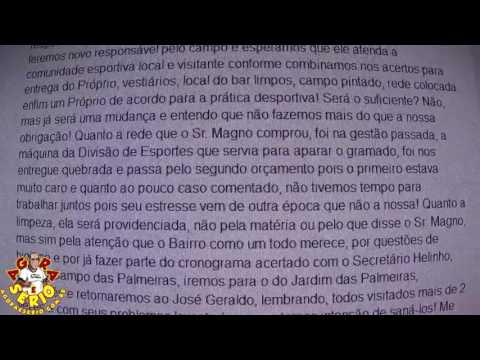 Secretário de Esportes Mauro Ramos responde Jornal agora é Sério em Grupo do Facebook
