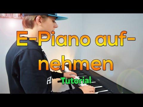E-Piano / Keyboard per Midi aufnehmen - Mit Pc verbinden • Tutorial | PianoplayerMusic [HD]