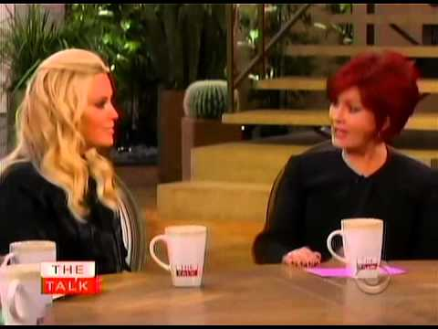 Video of Sharon Osbourne interviews Jenny McCarthy on The Talk