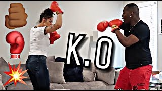 DAMIEN VS BIANNCA BOXING MATCH   THE PRINCE FAMILY