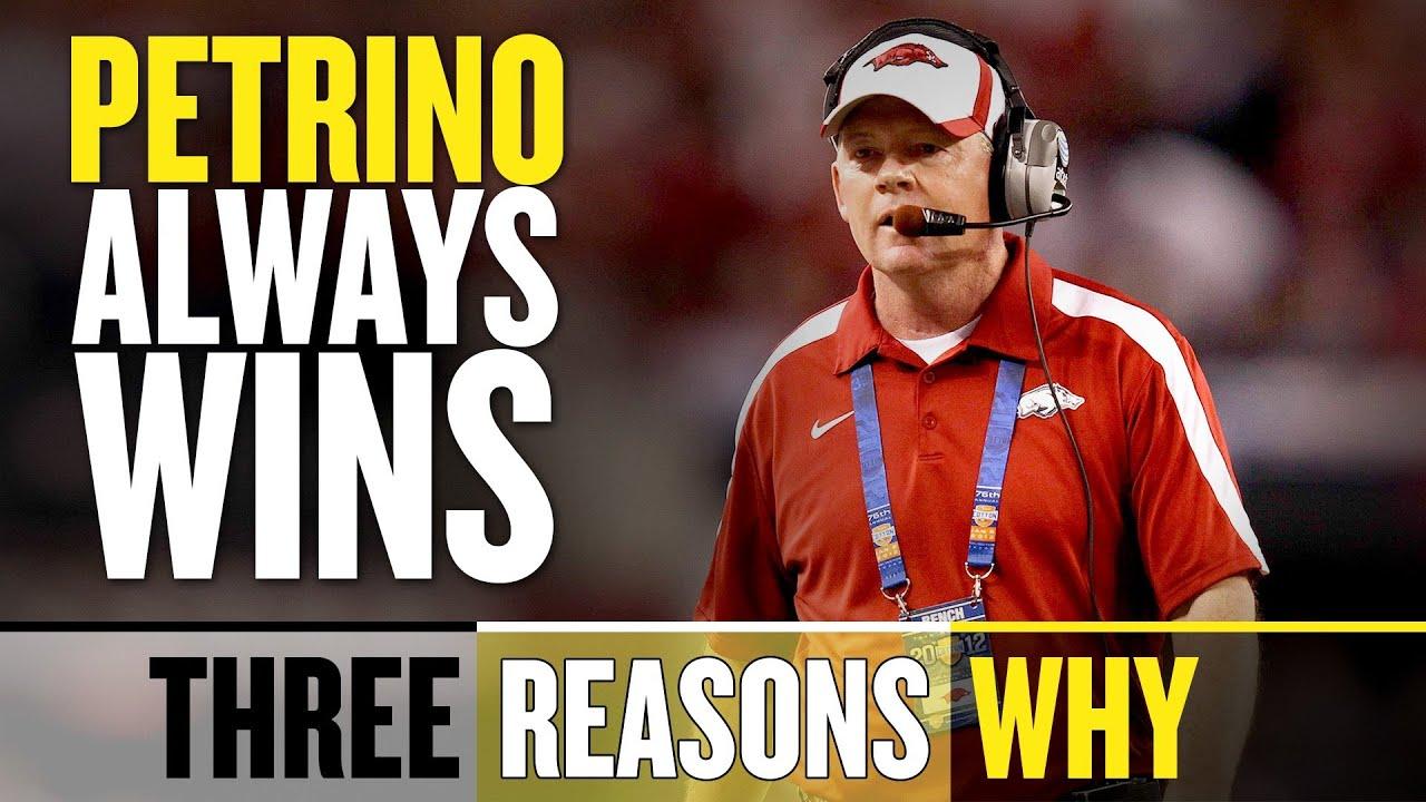 Bobby Petrino Wins: Three Reasons Why thumbnail