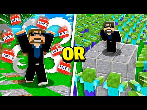 SSundee vs EXTREME Minecraft Would You Rather! - Challenge