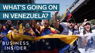 Why The US Is Sanctioning Venezuela