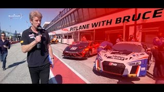 Pitlane catch up with Bruce - Misano 2017