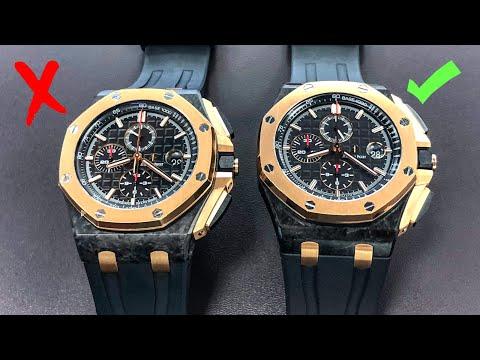 How to Spot Fake Watches – Audemars Piguet Royal Oak Offshore