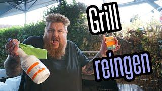 Gasgrill reinigen - auch nach Fettbrand - ohne Probleme - BBQ & Grillen für jedermann