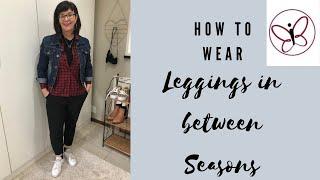 How To Wear Black Leggings In Between Seasons// Marinda Aucamp
