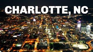 Charlotte, North Carolina Drone Footage Night 2019