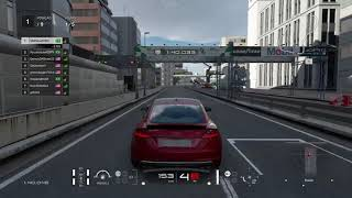 Corrida online de Audi TTS  -  GT SPORT