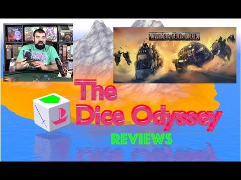 Kickstarter review for the Dice Odyssey