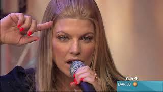 Fergie - Glamorous & Interview Live on Sunrise - 1080p - 2007