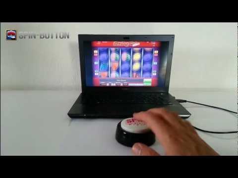 SPIN-BUTTON SpinButton - Casino Spielautomatenknopf Maus Button