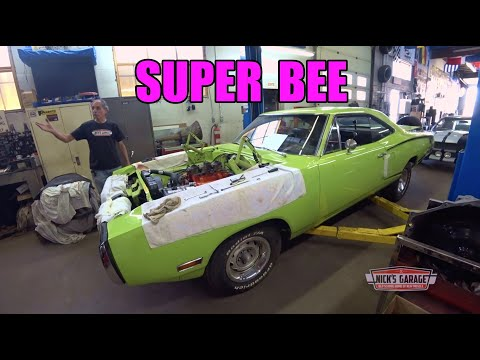 1970 Super Bee 440 Safety Check - Hot Rod Wedding Bells